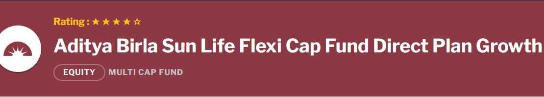 Aditya Birla Sun Life Flexi Cap Fund