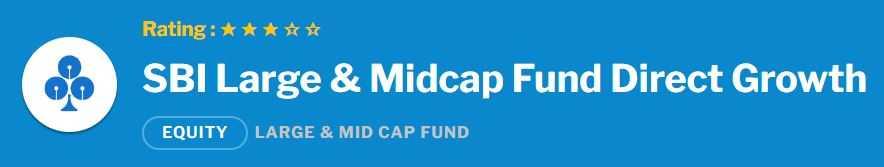 SBI Large & Midcap Fund
