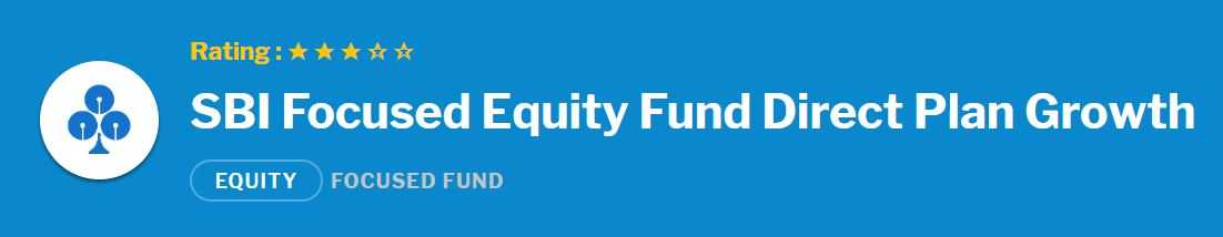 SBI Focused Equity Fund