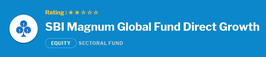 SBI Magnum Global Fund