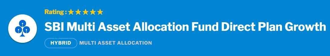 SBI Multi Asset Allocation Fund