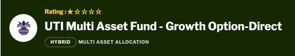 UTI Multi Asset Fund