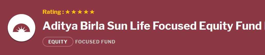 Aditya Birla Sun Life Focused Equity Fund