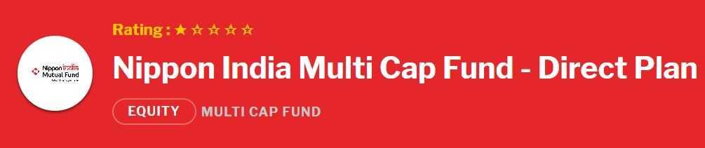Nippon India Multi Cap Fund